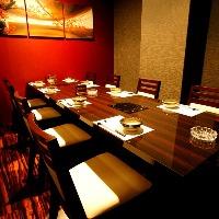 テーブル個室は接待やご宴席に最適