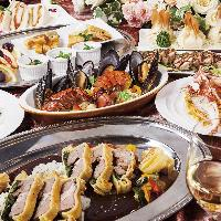 和洋中多彩な品がすべて食べ放題!毎日通えるラインナップです