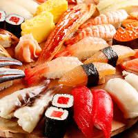 直送魚!握り寿司が付いたワンランク上のご宴会のご紹介