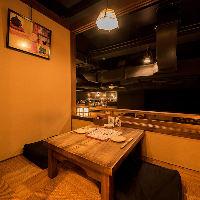 【デートも◎】 2名様用個室もございます。京都デートにぜひ
