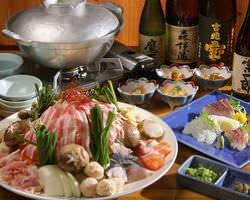 特製ちゃんこ鍋コース 季節の美味しさ!