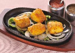 フィッシュティッカは魚の照り焼き料理です☆