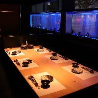 和歌山初のリゾートダイニングのお部屋もございます (最大6名様)