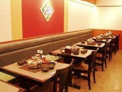 バリアフリーのテーブル席★ 最大44名様ご利用いただけます☆