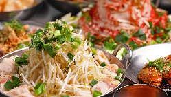 旨辛韓流料理も充実 通年で楽しめます!赤ちり×韓流のコラボ
