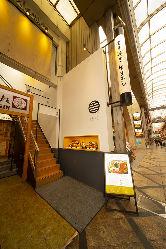 近鉄奈良駅徒歩1分!商店街入ってすぐ☆雨でも濡れずにOK!