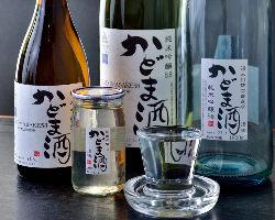 ◆銘柄酒さまざま!◆ お料理に合うお酒を厳選