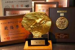 品質に自身!! 最高の神戸牛、品評会の入賞牛にこだわります!