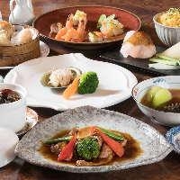 伊勢エビ・フカヒレ贅沢 食材たっぷり各種お得な香港楼のコース