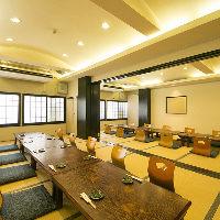 3階お座敷は最大50名様までのご宴会にご利用いただけます。