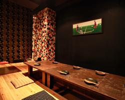掘りごたつ・テーブル席どちらとも ご宴会最大24名様まで可能