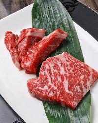 旨味たっぷりのプロテサン牛の熟成肉