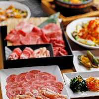 【焼肉宴会コース】 食べ飲み放題or食べ放題からお選びください