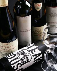 店主厳選のワインご用意しております