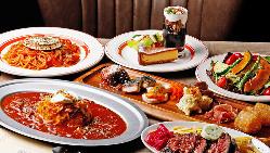 女子会や友人同士のお食事に『ニューディナー』2,480円(税込)
