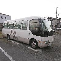 無料駐車場を30台分完備。送迎バスもご用意しております。