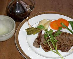 鹿児島産黒和牛ロースステーキ