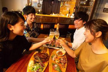梅田 肉料理 きゅうろく