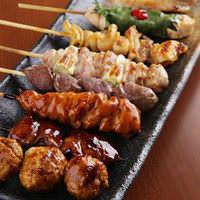 《やきとり》 1串129円~!朝引きの国産鶏は旨味たっぷり