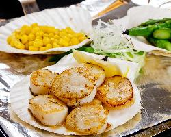 お野菜や魚介類もたっぷり堪能できちゃいます☆