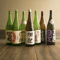 【滋賀の地酒】 鶏料理と相性ぴったりな日本酒を揃えております