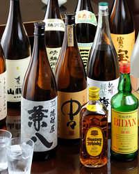 <種類豊富なドリンク類> 料理に合うお酒を豊富に取り揃え