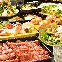 お食い初め・接待におすすめ。3時間飲み放題付コース6,000円~
