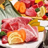 焼肉の食べ放題の宴会コースは3480円から各種ご用意。