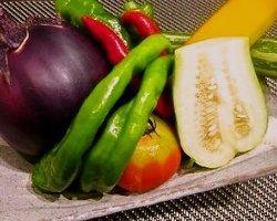 契約農家直送の新鮮野菜を使用
