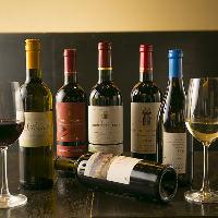 《日本酒以外に》 自然派ビオワインも多数取り揃えております