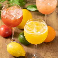 フルーツ+スパークリングワイン!大好評のフルーツリング