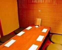 個室ございます。宴会や大事な 会席の場にお使いくださいませ