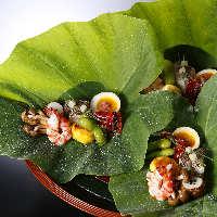 四季折々の旬な食材を多彩なお料理で。