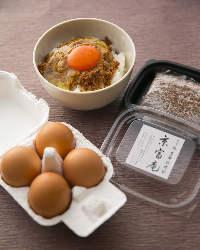 《お土産に》 ご自宅で楽しめる滋賀卵の「そぼろたまごセット」