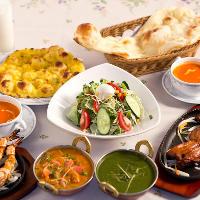 インド料理を食べ放題!!