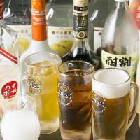 リーズナブルさに驚き!アルコール飲み放題は800円(税抜)~