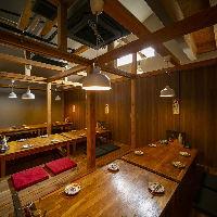 2名様~最大30名様まで、使える宴会個室をご用意しております!