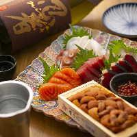 日本酒ラバー&ワイン通も集う店。鮮魚に干し魚、アテが豊富です