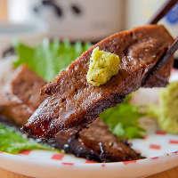 【魚だけじゃない】 肉や野菜の一品も、自信作が揃います