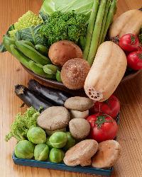 地魚&地野菜も♪和歌山で収穫された旬の野菜もたっぷり使用!