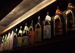 さらに充実した厳選日本酒と焼酎♪