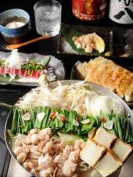 【ご宴会に◎】 自慢の料理をたっぷり楽しめるコースをご用意!