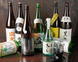 店長オススメ日本酒! 銘柄はちょこちょこ変わります。