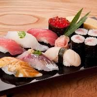 上寿司盛り合わせ 1300円(税抜)