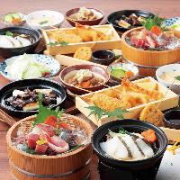 庄やの海鮮料理や季節の逸品をおトクに楽しめるコースをご用意♪