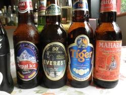 インドビールも多数ご用意しております