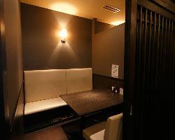 【女子会にも◎】 おしゃべりに最適な個室もご用意しています