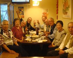 阪神シニアカレッジ・地活5期・同窓会様2階・記念写真♪