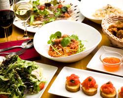 コース料理は宴会や記念日など用途に合わせてご用意できます♪