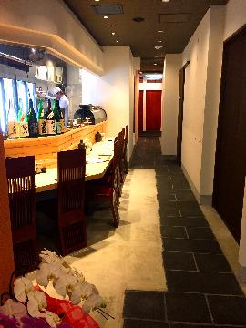 日本酒と魚串 「松吉」